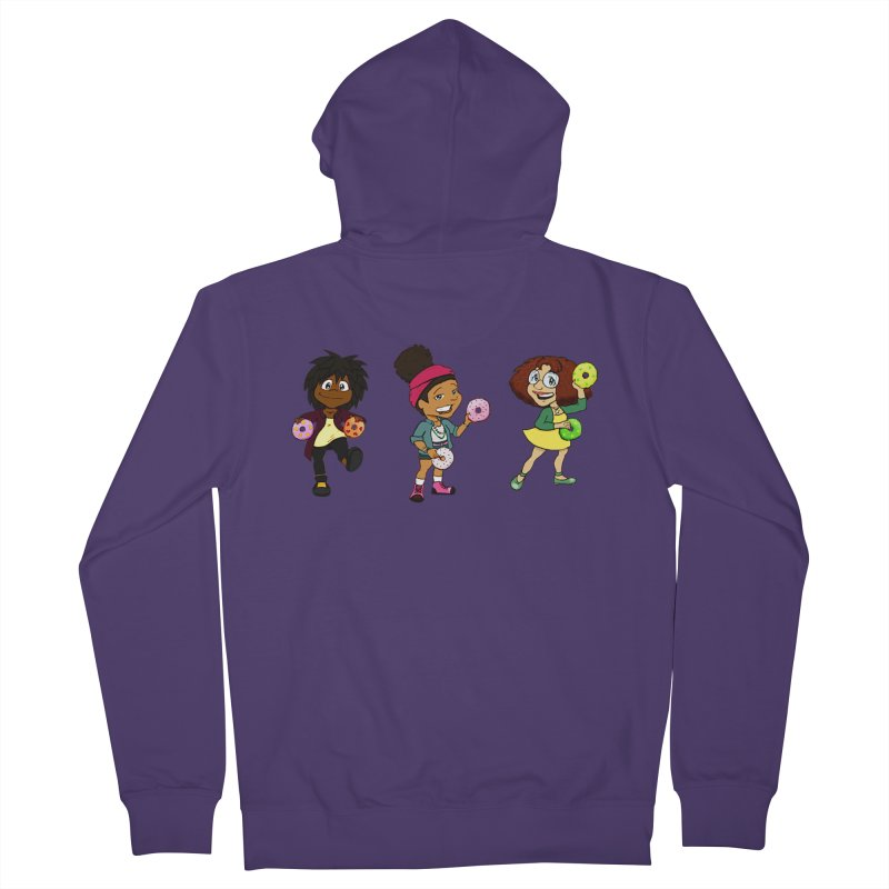 Strange Froots Chibis Women's French Terry Zip-Up Hoody by Strange Froots Merch