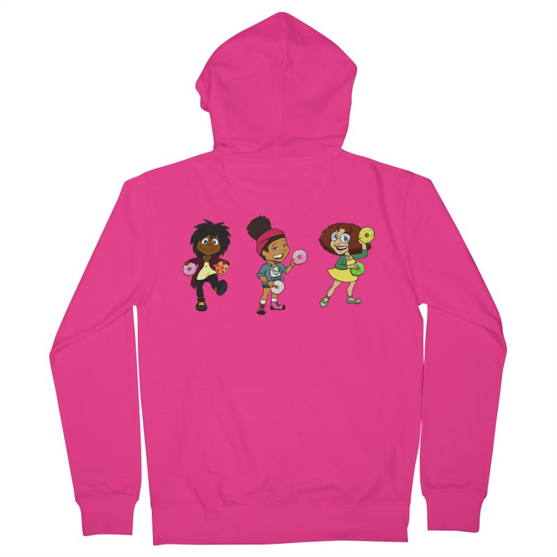 Strange Froots Chibis Men's French Terry Zip-Up Hoody by Strange Froots Merch