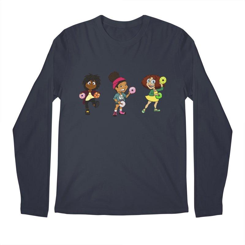 Strange Froots Chibis Men's Regular Longsleeve T-Shirt by Strange Froots Merch