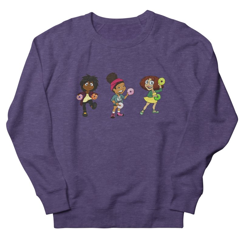 Strange Froots Chibis Women's French Terry Sweatshirt by Strange Froots Merch