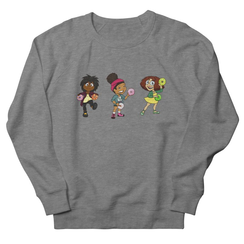 Strange Froots Chibis Men's French Terry Sweatshirt by Strange Froots Merch