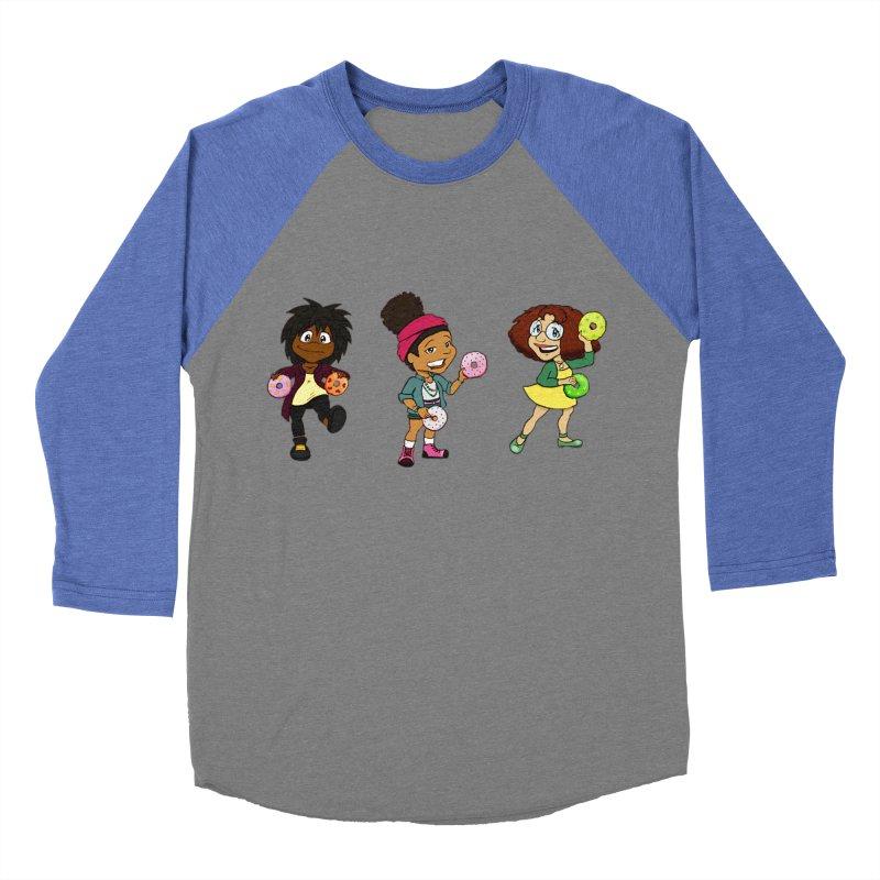 Strange Froots Chibis Women's Baseball Triblend Longsleeve T-Shirt by Strange Froots Merch
