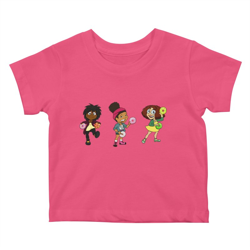 Strange Froots Chibis Kids Baby T-Shirt by Strange Froots Merch