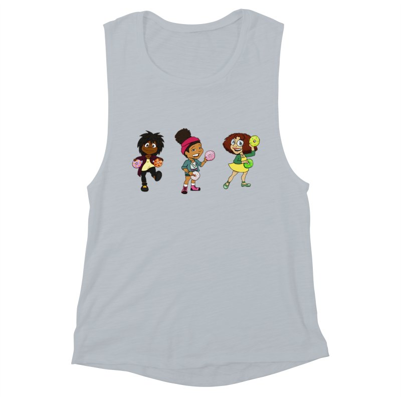 Strange Froots Chibis Women's Muscle Tank by Strange Froots Merch