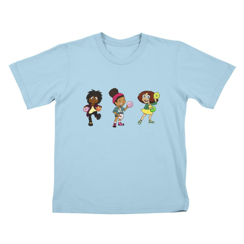 Strange Froots Chibis Kids T-Shirt by Strange Froots Merch