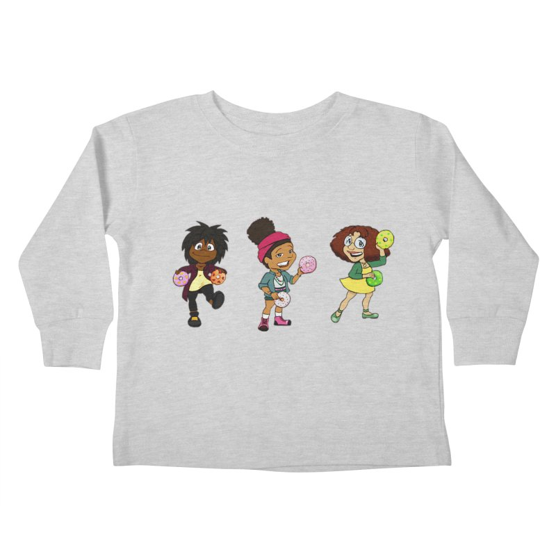 Strange Froots Chibis Kids Toddler Longsleeve T-Shirt by Strange Froots Merch