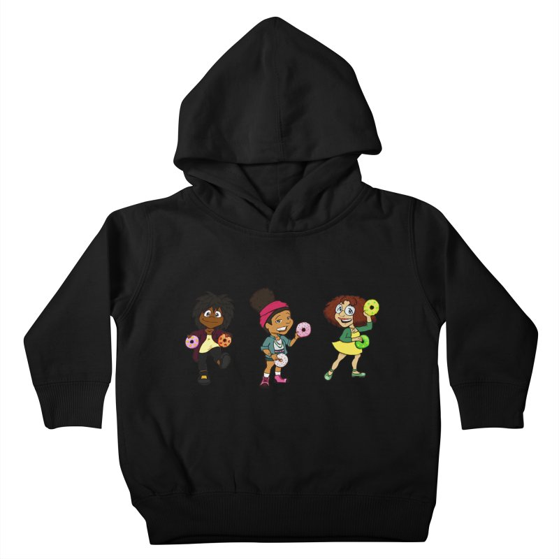 Strange Froots Chibis Kids Toddler Pullover Hoody by Strange Froots Merch