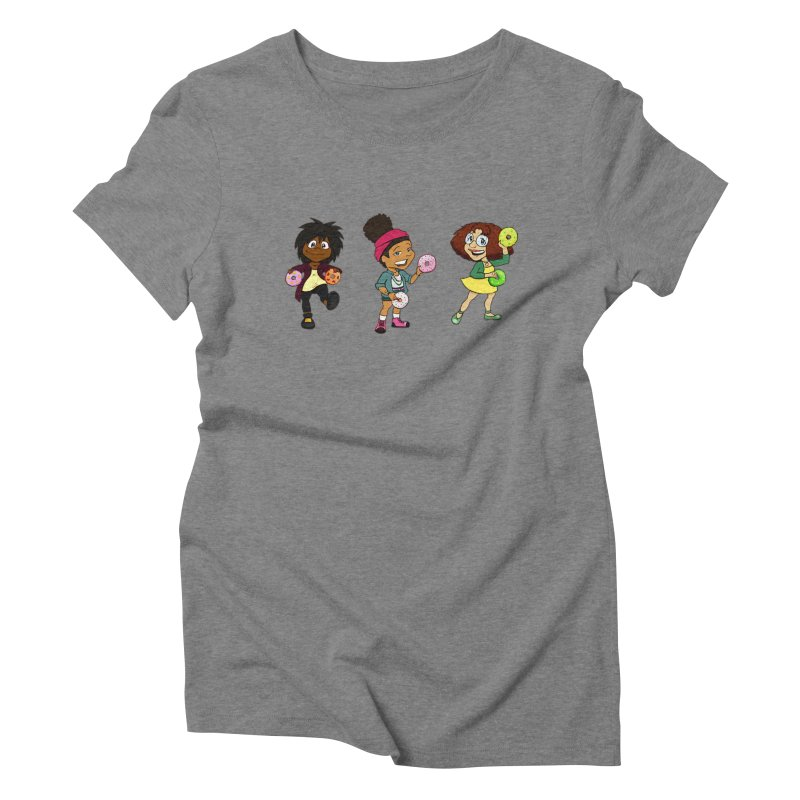 Strange Froots Chibis Women's Triblend T-Shirt by Strange Froots Merch