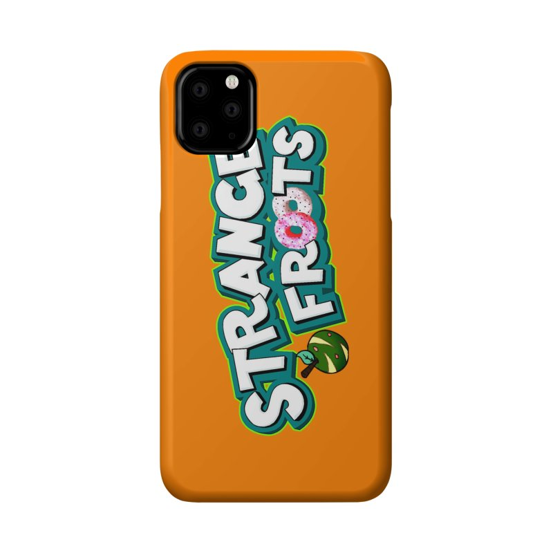 Strange Froots Cereal Logo Accessories Phone Case by Strange Froots Merch