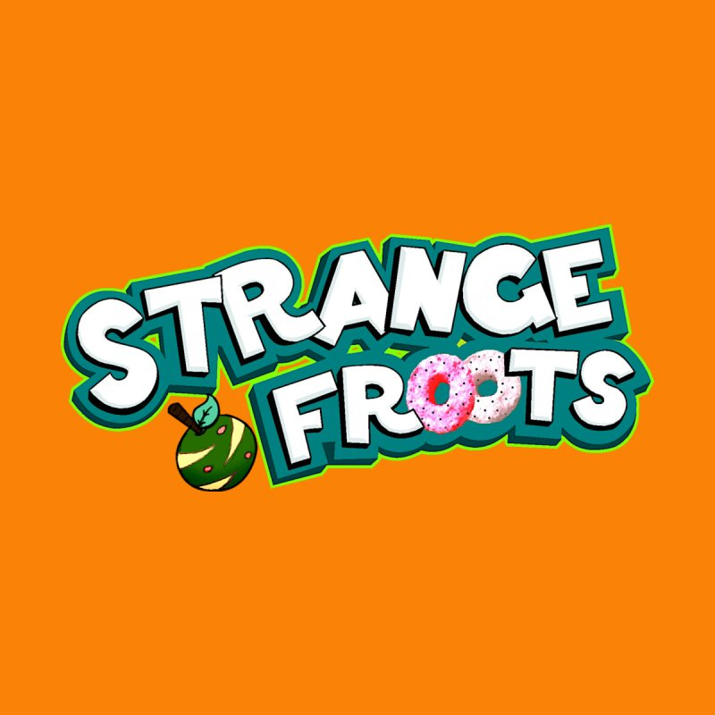 Strange Froots Cereal Logo Men's Tank by Strange Froots Merch