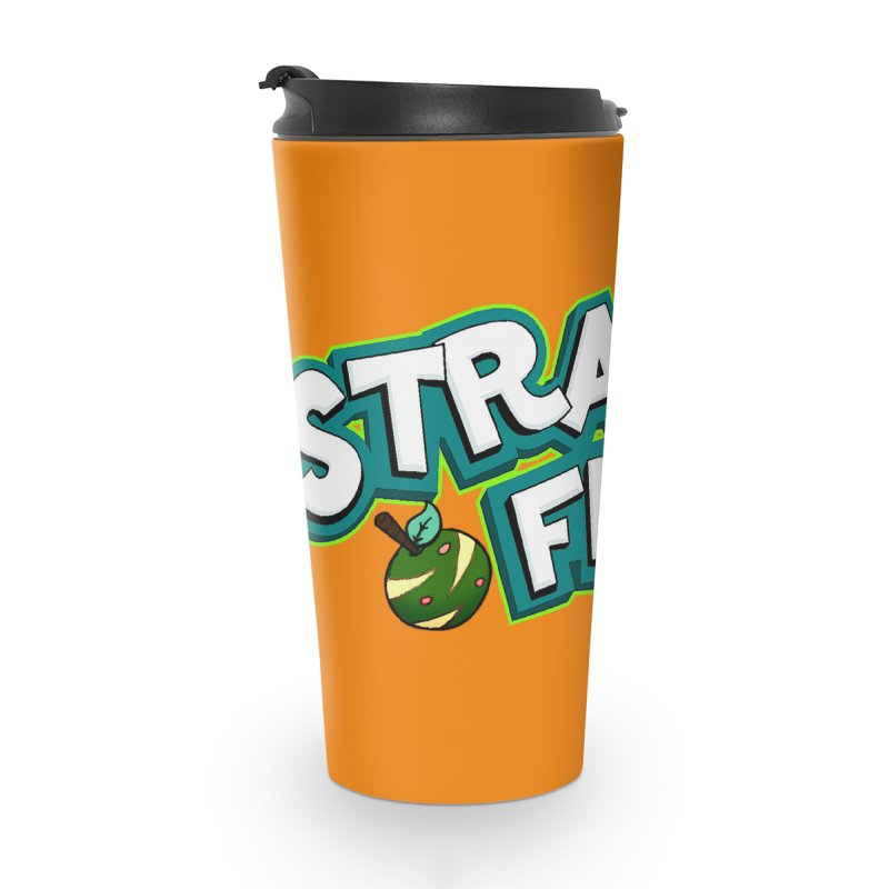 Strange Froots Cereal Logo Accessories Travel Mug by Strange Froots Merch