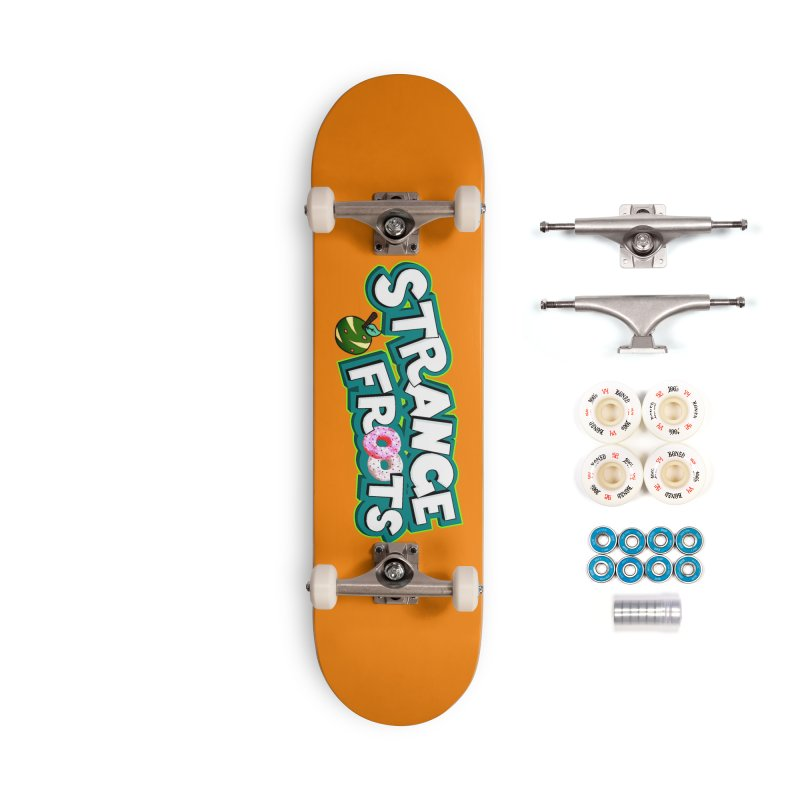 Strange Froots Cereal Logo Accessories Complete - Premium Skateboard by Strange Froots Merch