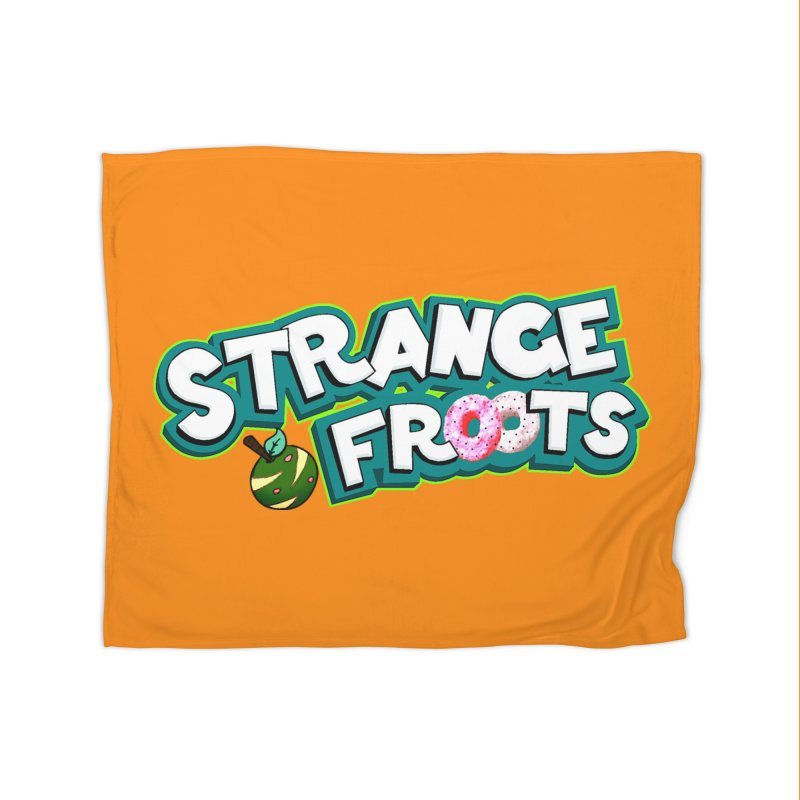 Strange Froots Cereal Logo Home Blanket by Strange Froots Merch
