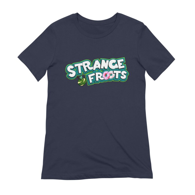 Strange Froots Cereal Logo Women's Extra Soft T-Shirt by Strange Froots Merch