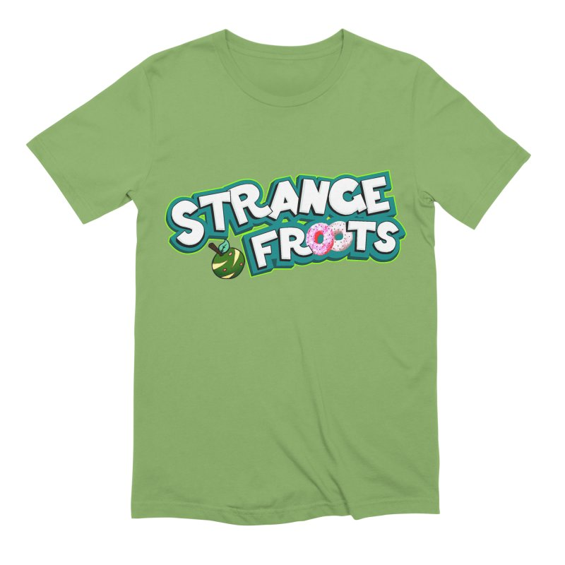 Strange Froots Cereal Logo Men's Extra Soft T-Shirt by Strange Froots Merch