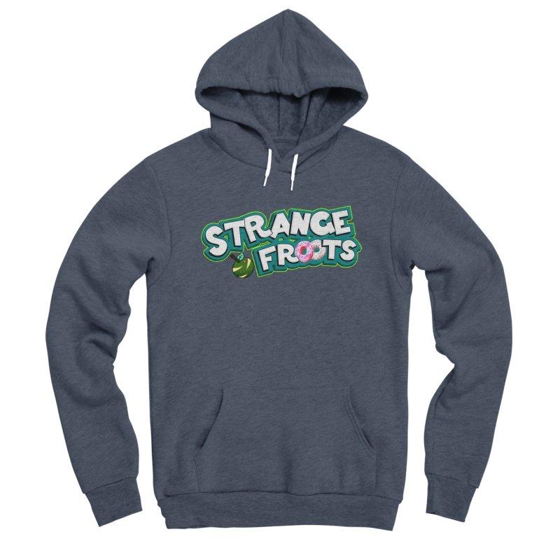 Strange Froots Cereal Logo Women's Sponge Fleece Pullover Hoody by Strange Froots Merch