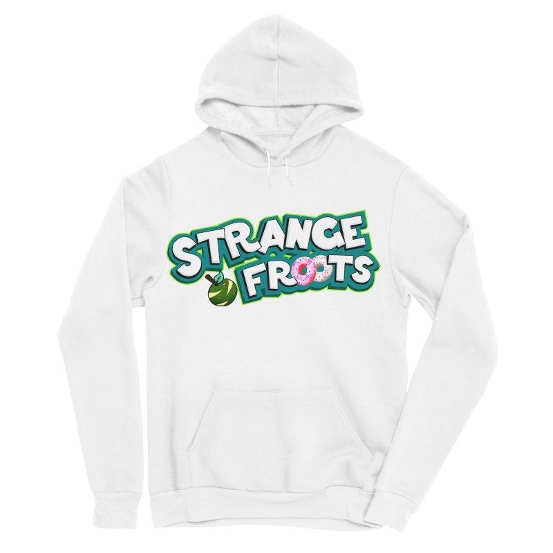Strange Froots Cereal Logo Men's Sponge Fleece Pullover Hoody by Strange Froots Merch