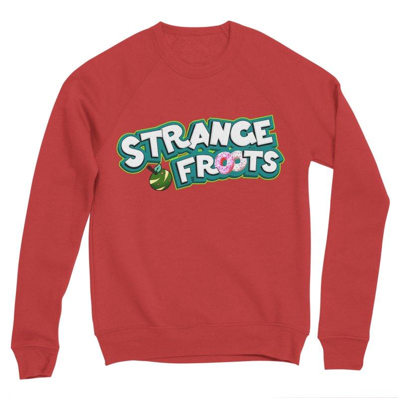 Strange Froots Cereal Logo Men's Sponge Fleece Sweatshirt by Strange Froots Merch