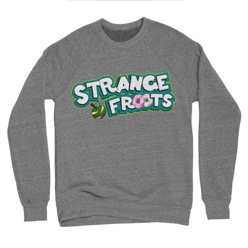 Strange Froots Cereal Logo Women's Sponge Fleece Sweatshirt by Strange Froots Merch