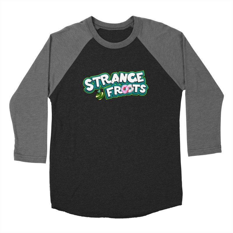 Strange Froots Cereal Logo Women's Baseball Triblend Longsleeve T-Shirt by Strange Froots Merch