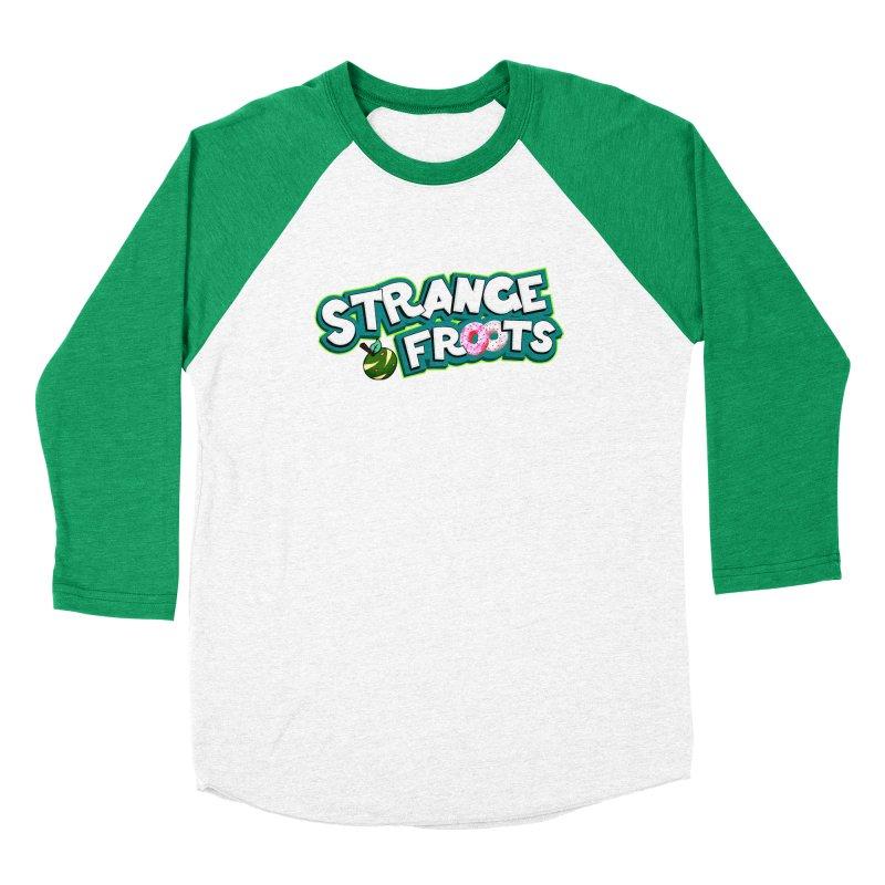 Strange Froots Cereal Logo Men's Longsleeve T-Shirt by Strange Froots Merch