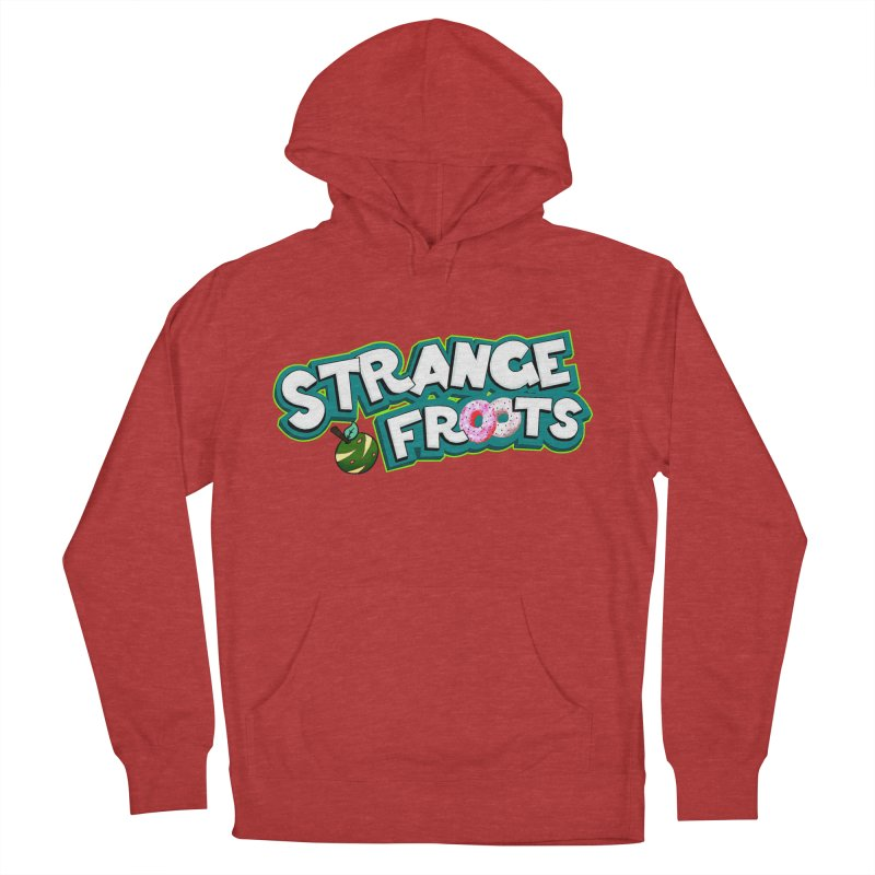 Strange Froots Cereal Logo Women's French Terry Pullover Hoody by Strange Froots Merch
