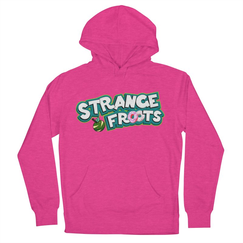 Strange Froots Cereal Logo Men's French Terry Pullover Hoody by Strange Froots Merch