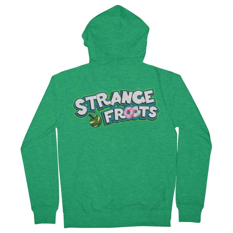 Strange Froots Cereal Logo Men's Zip-Up Hoody by Strange Froots Merch