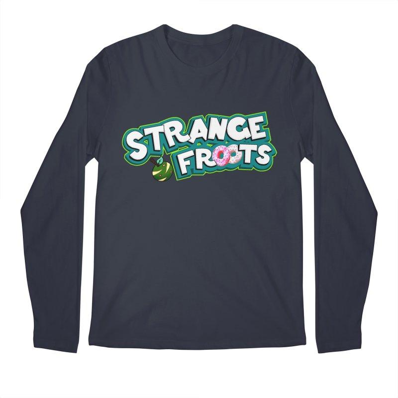 Strange Froots Cereal Logo Men's Regular Longsleeve T-Shirt by Strange Froots Merch