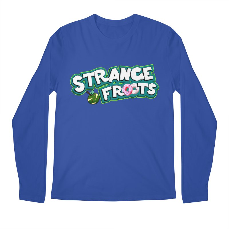Strange Froots Cereal Logo Men's Regular Longsleeve T-Shirt by Strange Froots Merch