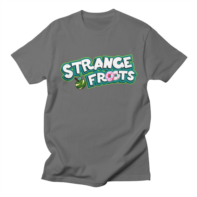 Strange Froots Cereal Logo Men's T-Shirt by Strange Froots Merch