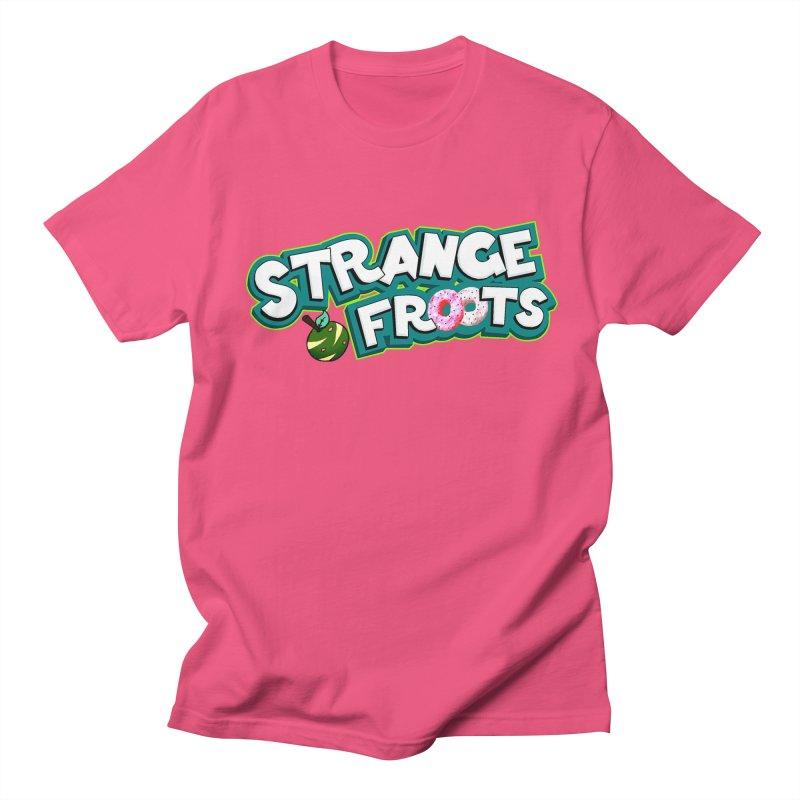 Strange Froots Cereal Logo Men's Regular T-Shirt by Strange Froots Merch