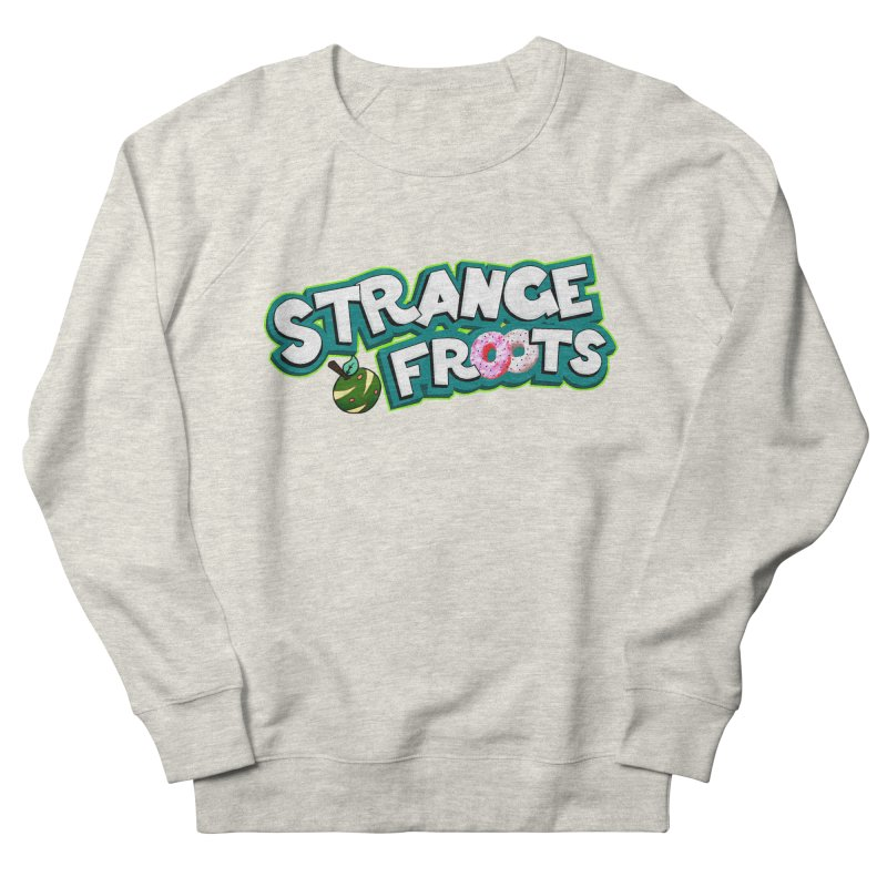 Strange Froots Cereal Logo Women's French Terry Sweatshirt by Strange Froots Merch