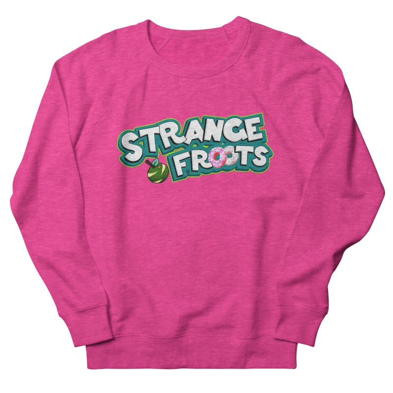 Strange Froots Cereal Logo Men's French Terry Sweatshirt by Strange Froots Merch