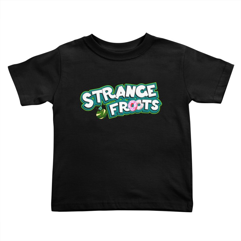 Strange Froots Cereal Logo Kids Toddler T-Shirt by Strange Froots Merch