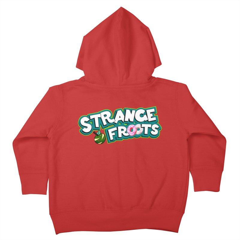 Strange Froots Cereal Logo Kids Toddler Zip-Up Hoody by Strange Froots Merch