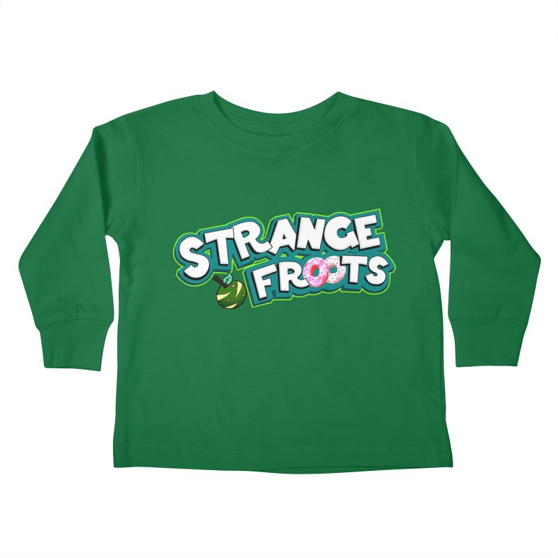 Strange Froots Cereal Logo Kids Toddler Longsleeve T-Shirt by Strange Froots Merch