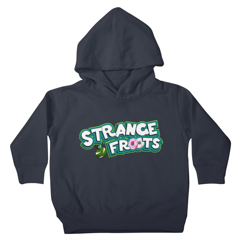 Strange Froots Cereal Logo Kids Toddler Pullover Hoody by Strange Froots Merch