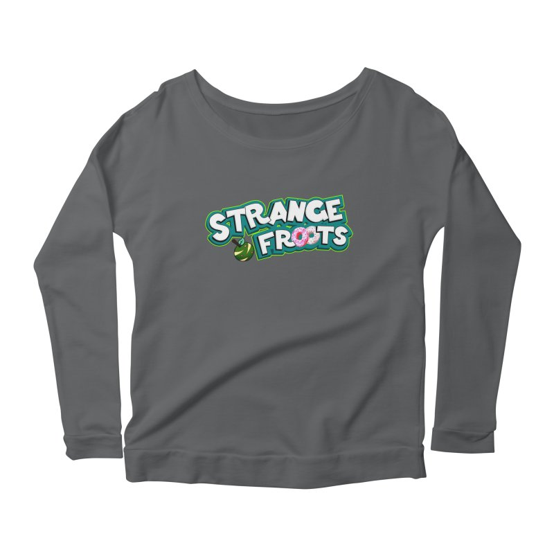 Strange Froots Cereal Logo Women's Longsleeve T-Shirt by Strange Froots Merch