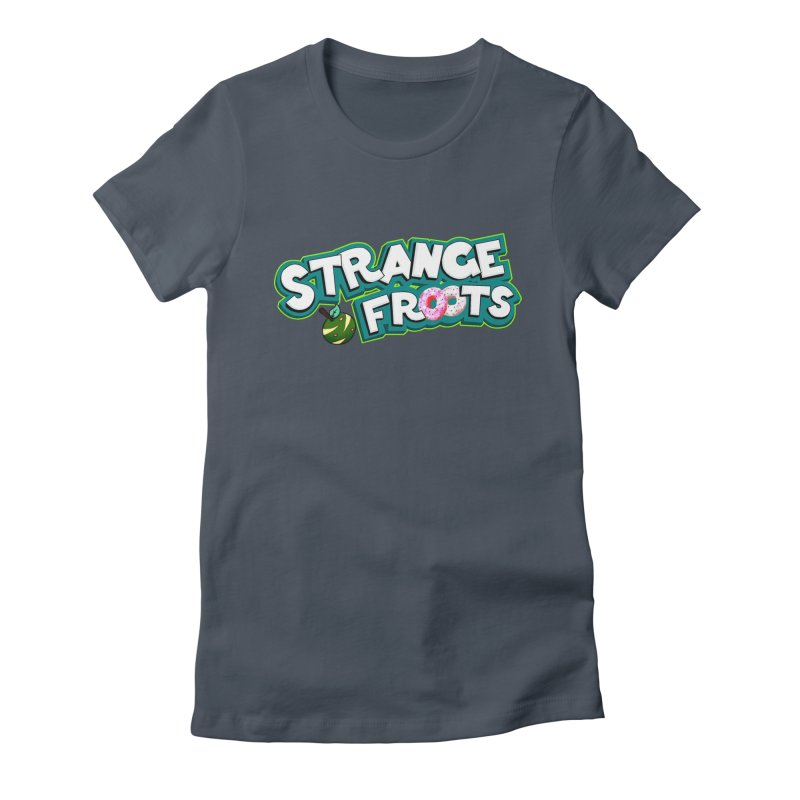 Strange Froots Cereal Logo Women's T-Shirt by Strange Froots Merch