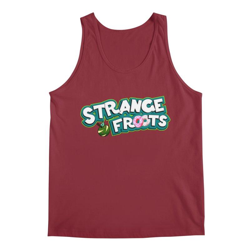 Strange Froots Cereal Logo Men's Regular Tank by Strange Froots Merch