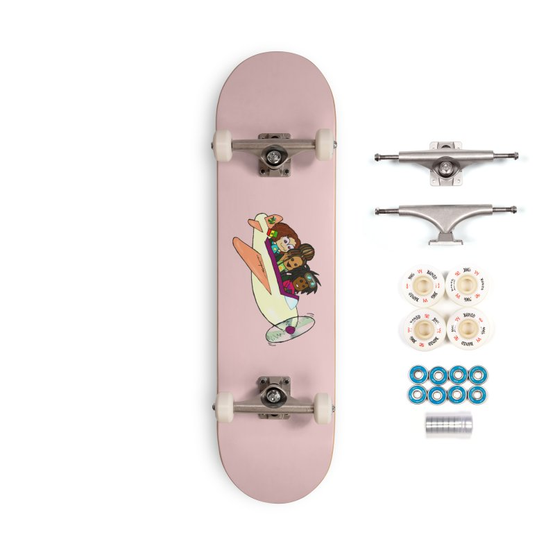 Froots Fly to Dakar Accessories Complete - Premium Skateboard by Strange Froots Merch