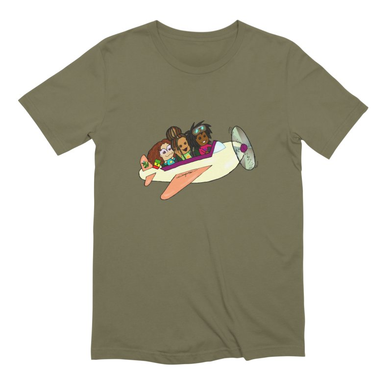 Froots Fly to Dakar Men's Extra Soft T-Shirt by Strange Froots Merch