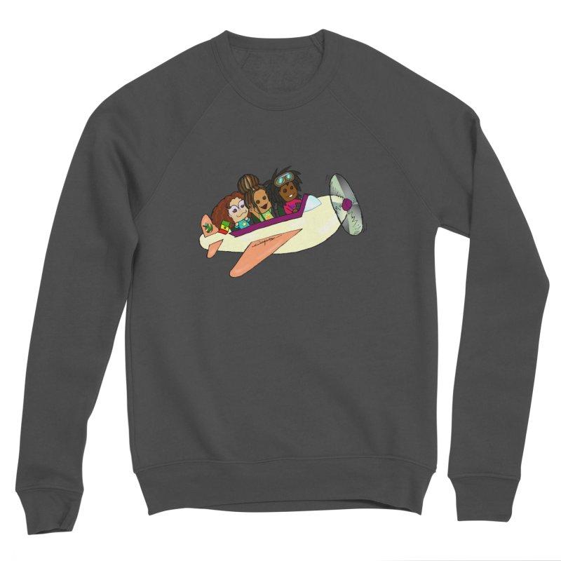 Froots Fly to Dakar Men's Sponge Fleece Sweatshirt by Strange Froots Merch