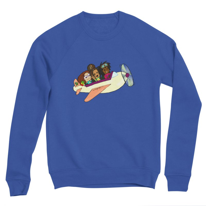 Froots Fly to Dakar Men's Sweatshirt by Strange Froots Merch