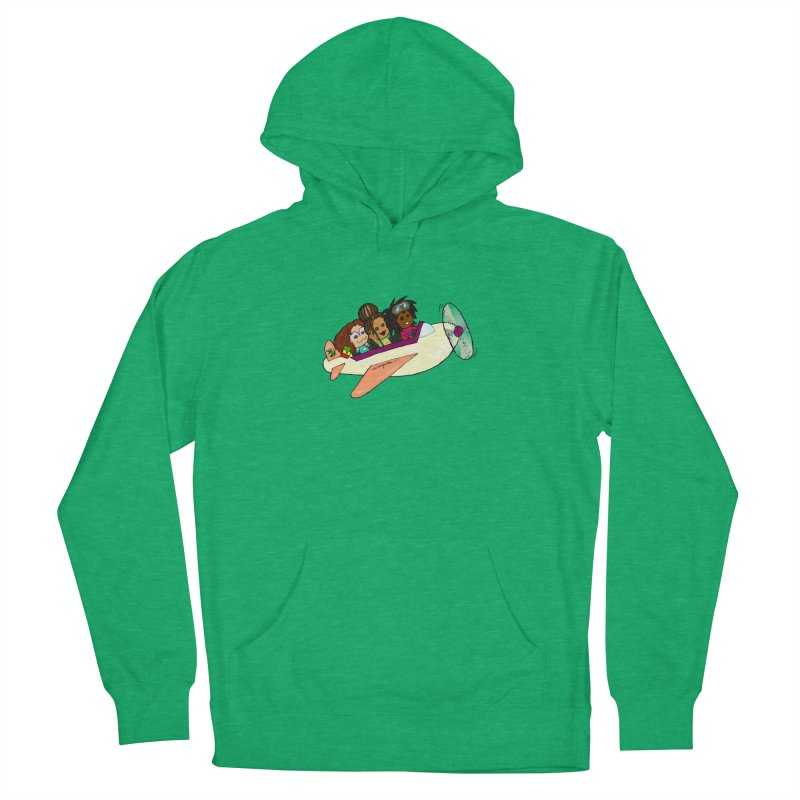 Froots Fly to Dakar Women's French Terry Pullover Hoody by Strange Froots Merch