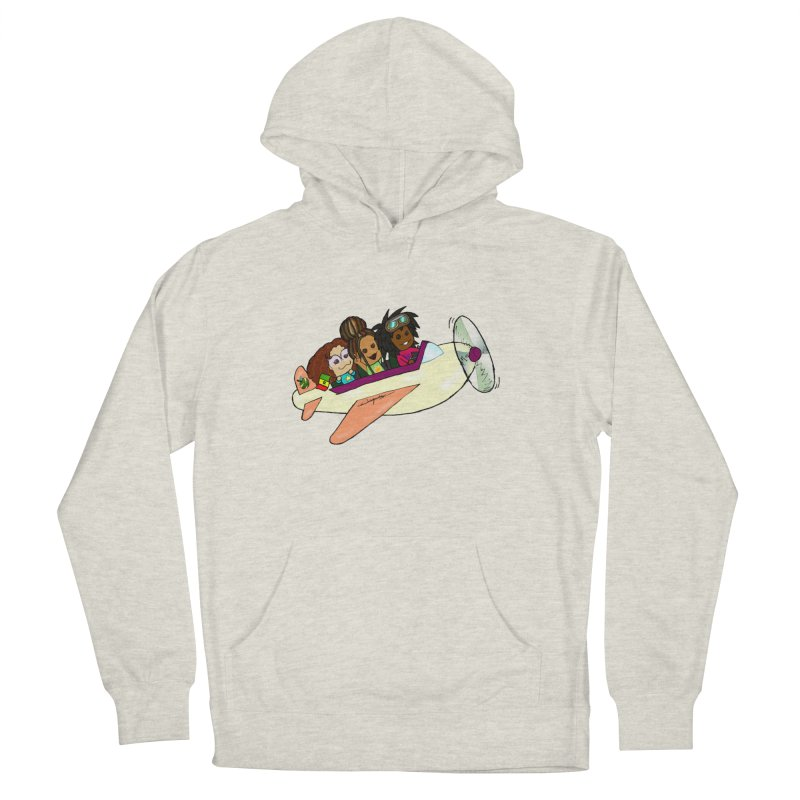 Froots Fly to Dakar Men's French Terry Pullover Hoody by Strange Froots Merch