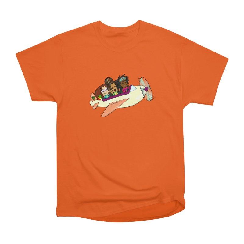 Froots Fly to Dakar Women's Heavyweight Unisex T-Shirt by Strange Froots Merch
