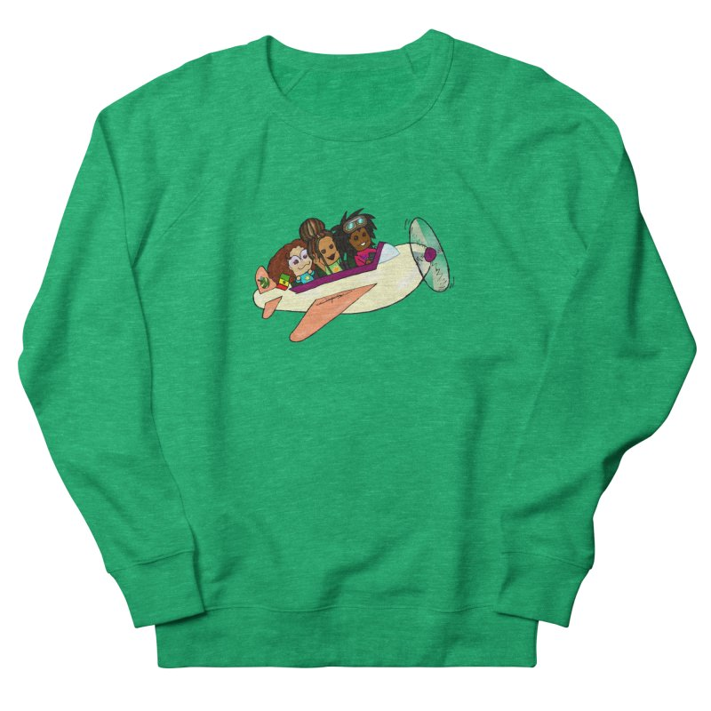 Froots Fly to Dakar Women's French Terry Sweatshirt by Strange Froots Merch
