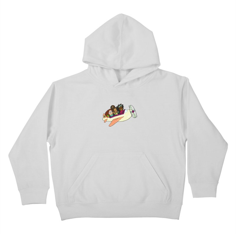 Froots Fly to Dakar Kids Pullover Hoody by Strange Froots Merch